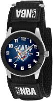 Game Time Rookie Series Oklahoma City Thunder Silver Tone Watch - NBA-ROB-OKC - Kids