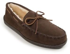 Minnetonka Men's Plie Lined Hard Sole Slipper Men's Shoes
