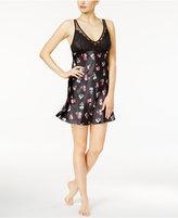 Thalia Sodi Lace-Bodice Printed Chemise, Created for Macy's
