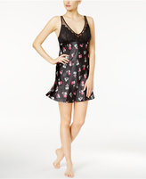 Thalia Sodi Lace-Bodice Printed Chemise, Only at Macy's