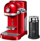 Nespresso KitchenAid With Aeroccino - Empire Red