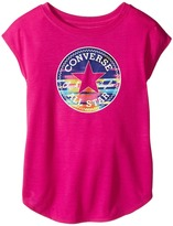 Converse Printed Chuck Patch Tee (Toddler/Little Kids)
