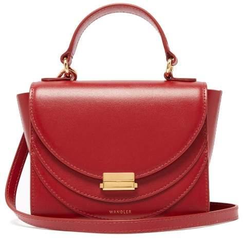 26c6190f7 Red Leather Crossbody - ShopStyle UK