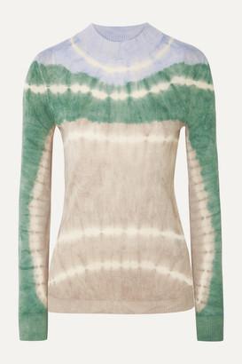 Missoni Tie-dyed Alpaca Top - Gray green