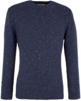 Gibson Men's Chunky Crew Neck Donegal Sweater