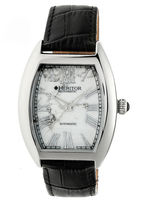 Heritor Baron Mens Black Strap Watch-Herhr6001