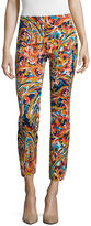 Liz Claiborne Slim-Leg Cropped Pants