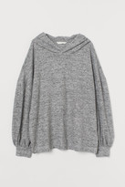 H&M MAMA Soft hooded top