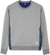Ps By Paul Smith Grey Cotton Blend And Shell Sweatshirt