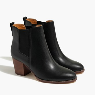 J.Crew Rory leather heeled boots