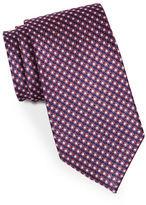 Black Brown 1826 Classic Medallion Tie