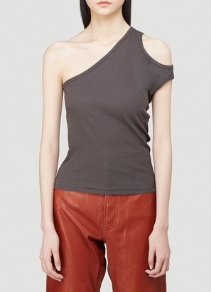 Telfar One-Shoulder Tank Top