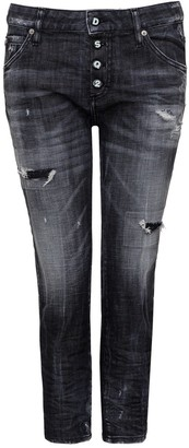 DSQUARED2 Worn Out Effect Jeans
