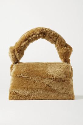 Dries Van Noten Pillow Large Shearling Tote - Camel