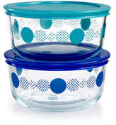 Pyrex Dots 4-Pc. Storage Set