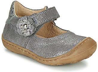 Citrouille et Compagnie LASKIMA girls's Shoes (Pumps / Ballerinas) in Grey