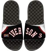 ISlide NBA Retro Legends Allen Iverson 3 Jersey Slide Sandal, White