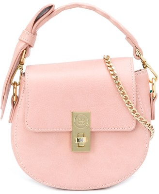 Abel & Lula Bow-Strap Shoulder Bag