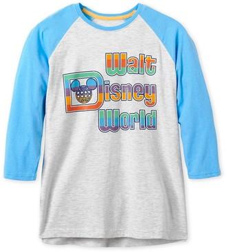 Disney Walt World Baseball T-Shirt for Adults