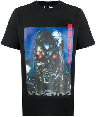 Études Wonder Terminator crew neck T-shirt