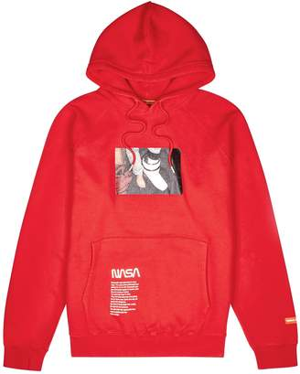 Heron Preston X NASA Red Printed Cotton Sweatshirt