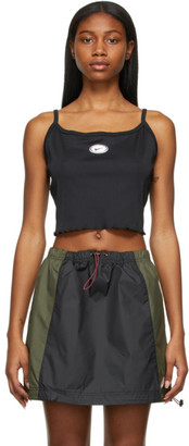 Nike Black Sportswear Essential Cropped Tank Top