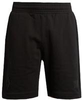 Marcelo Burlon Sajama Logo-embroidered Cotton Shorts