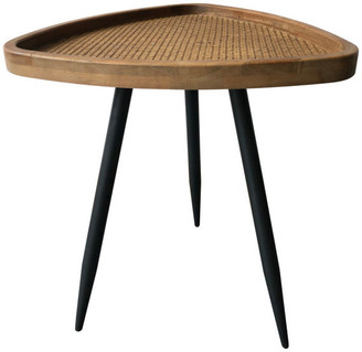 Moe's Home Collection Rollo Rattan Side Table