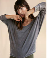 Express one eleven scoop neck slouchy dolman tee