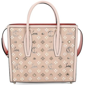 Christian Louboutin Medium Paloma Studded Leather Tote