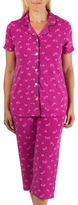 Claudel Polka Dot Capri Pyjama Set