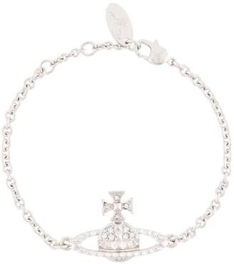 Vivienne Westwood Mini Bas Relief logo bracelet