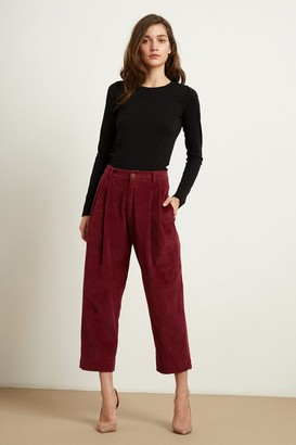 Velvet by Graham & Spencer Ophelia Corduroy Wide Leg Trouser