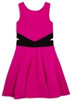 Sally Miller Girls' Cutout Waist Knit Dress - Sizes S-XL