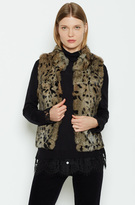 Joie Merwyn Fur Vest