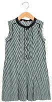 Marni Girls' Pleated Printed Dress w/ Tags