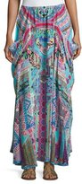 Camilla Embellished Silk Convertible Skirt Dress, Festival Friends