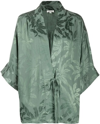 LOVE Stories Suki jacquard print robe