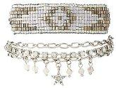 Charlotte Russe Embellished Beaded Layering Bracelets - 2 Pack
