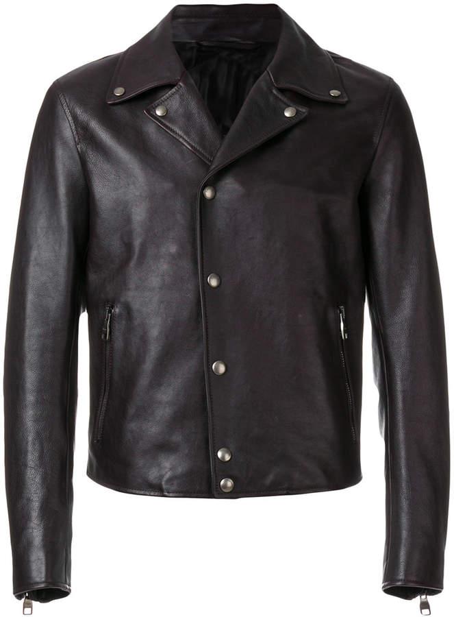 Salvatore Ferragamo biker jacket
