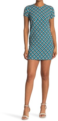 Diane von Furstenberg Carlotta Geometric Mini Dress