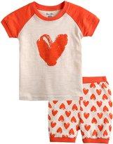 Vaenait Baby 12M-7T Kids Girls Summer Pajama Sleepwear Set Pumping Heart XS