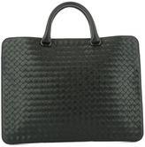 Bottega Veneta Black Leather Handle Bag