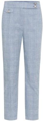 Veronica Beard Renzo cotton and linen pants