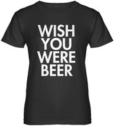 Indica Plateau Womens Wish You Were Beer T-Shirt