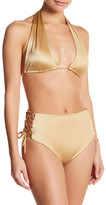Lovers + Friends Annie Side Lace-Up Tie Bikini Bottom