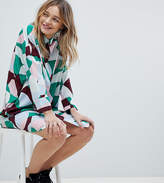 Monki Multi Colour Shirt Dress