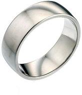 Platinum 7mm Super Heavy Court Ring