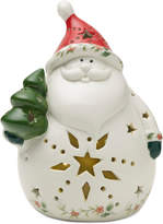 Pfaltzgraff Winterberry Led Santa Figure