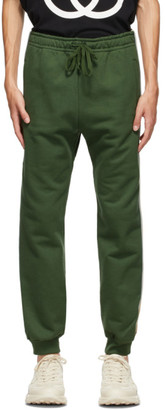 Gucci Green Cotton Jersey Sweatpants